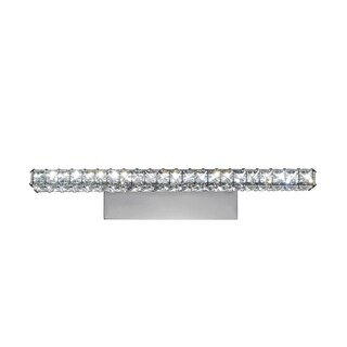 Bromi Design Venetzia Crystal/Metal Wall Sconce