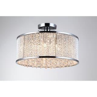 Bromi Design Crystalline Metal/Crystal 6-light Semi Flush Mount Ceiling Light https://ak1.ostkcdn.com/images/products/18177872/P24324902.jpg?impolicy=medium