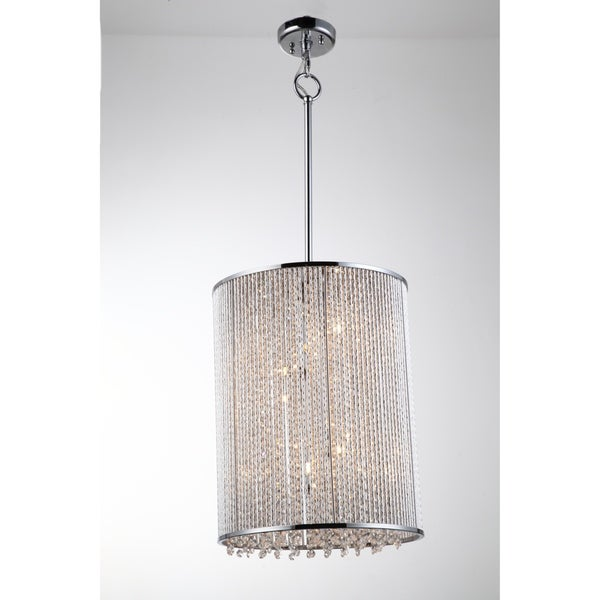 Crystalline 9 light Chandelier