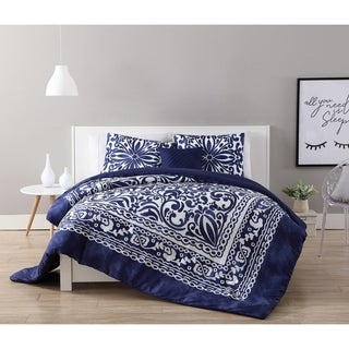 VCNY Home Elenor 4-piece Duvet Cover Set