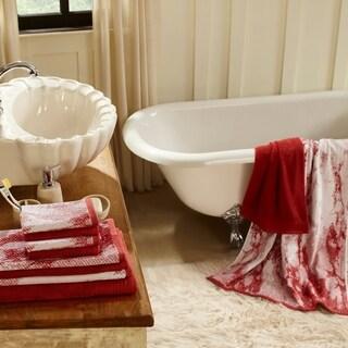 Superior Super Soft, Luxurious 100% Cotton Marble Effect 10-piece Towel Set