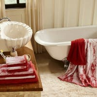 Superior Super Soft, Luxurious 100% Cotton Marble Effect 10-piece Towel Set