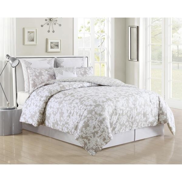 Ainna 6Pc Queen Comforter Set /Grey