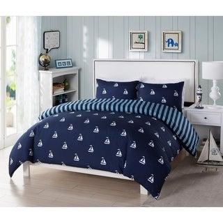 Coleman 2Pc Twin Comforter Set /Navy