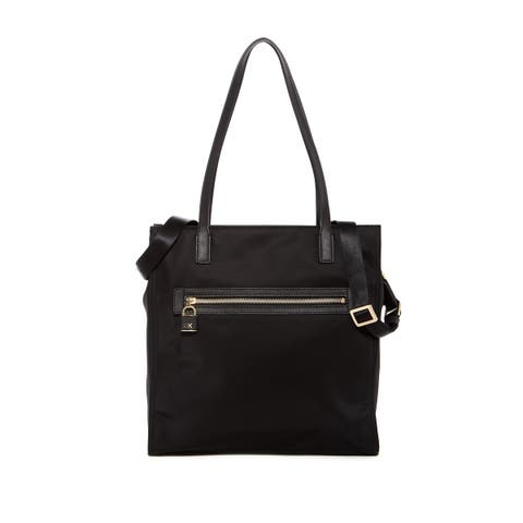 Michael Kors Leather Trimmed Nylon Tote