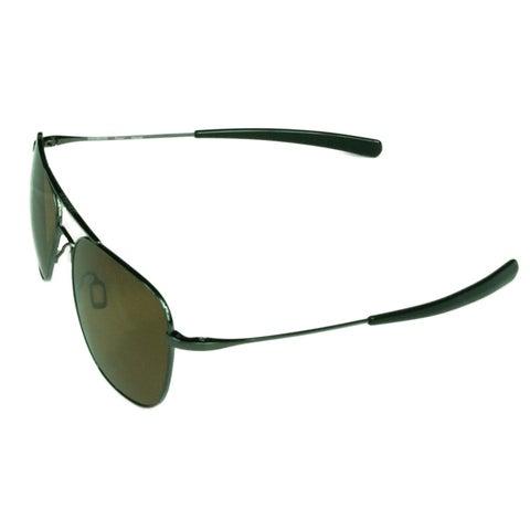 Serengeti Fashion Unisex Aerial 7979 Shiny Hematite w/ Polarized Driver Lens Sunglasses