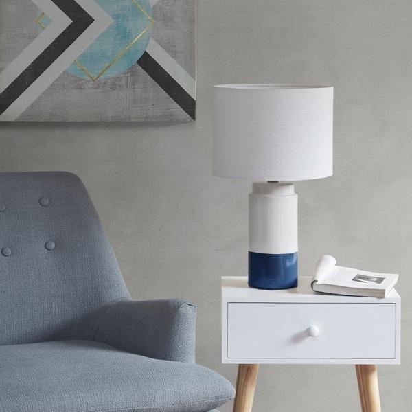Urban Habitat Bailey Navy Table Lamp