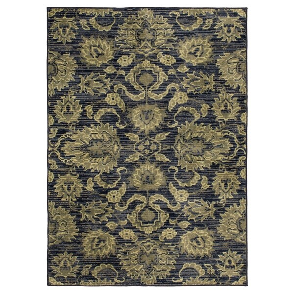 Mohawk Home Traditional Jewel Rug: Shop Mohawk Home Aurora Traditional Adriano Area Rug
