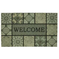 Mohawk Home Doorscapes Mat Welcome Ocean Tiles Doormat (1'6 x 2'6)