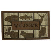 Mohawk Home Doorscapes Mat Woodlandwords Blocks Doormat (1'6 x 2'6)