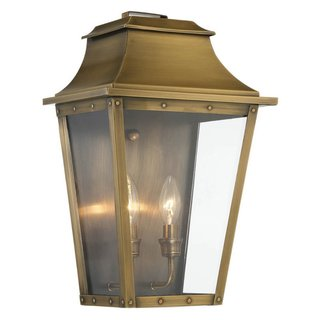 Acclaim Lighting Coventry 2-Light Outdoor Copper Patina Wall Light Fixture