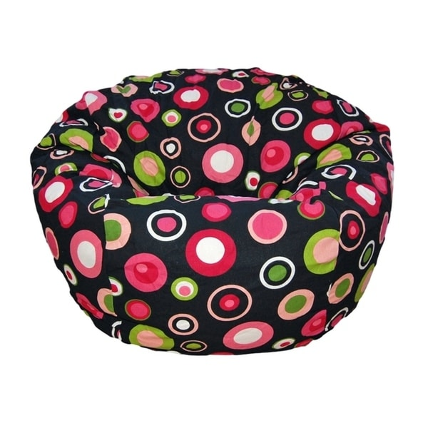 Ahh Products 27 Inch Wide Washable Kid Bean Bag Chair Bubbly Watermelon