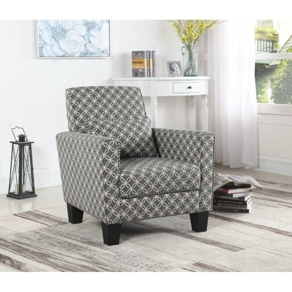 Astounding Best Quality Furniture Geometric Print Accent Chair Gmtry Best Dining Table And Chair Ideas Images Gmtryco