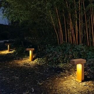 SLV Lighting Rusty Pathlight Outdoor Bollard