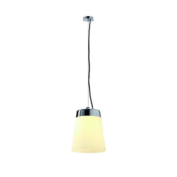 SLV Lighting Cone Shade Satin Pendant