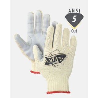 Worldwide Protective MATA30-BH Cut Resistant Gloves Leather Palm ATA Cut 5 (1 Pair) (2 options available)