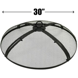 30 Inch Fire Screen - Fire Pit Cover - Fire Screen Protector