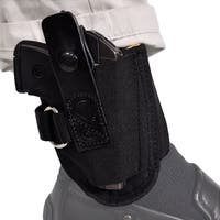 Bluestone Undercover Ruger Ankle Holster With D-Ring/ Fits Ruger LCP/ Sub-Compact handguns/ Fits .380 Compact Handguns