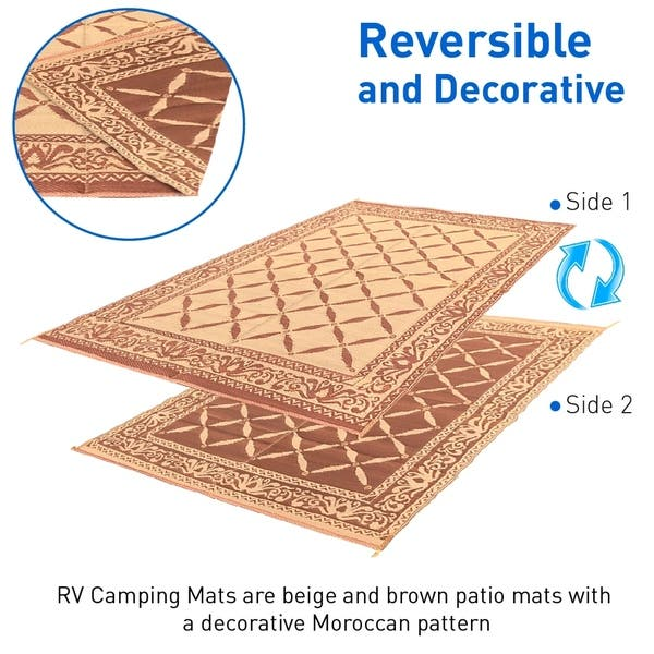 Rv Camping Mats 9 X 12 Outdoor Patio