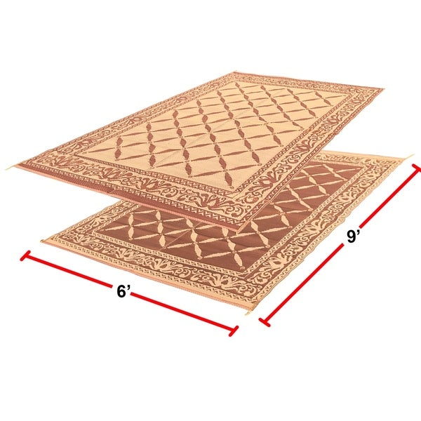 Nice RV Camping Mats   6u0026#x27; X 9u0026#x27; Outdoor Patio Mat