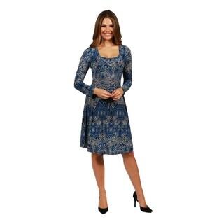 24/7 Comfort Apparel London Dress