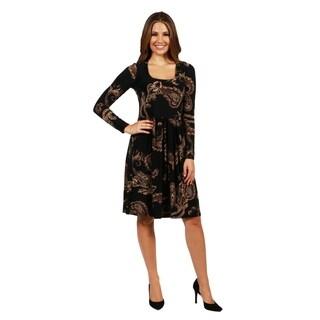 24/7 Comfort Apparel Rebecca Dress