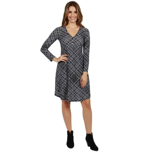 24/7 Comfort Apparel Citified Dress