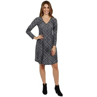 24/7 Comfort Apparel Citified Dress (3 options available)