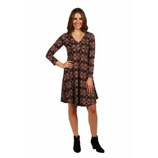 24/7 Comfort Apparel Nashville Dress