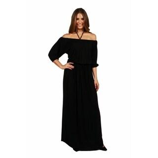 24/7 Comfort Apparel Monaco Maxi Dress