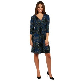 24/7 Comfort Apparel Arboretum Dress