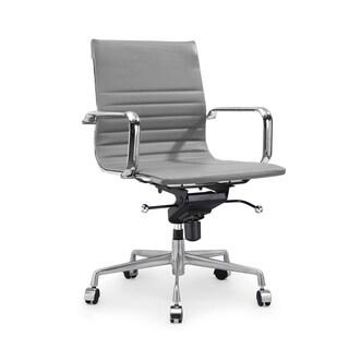 Decade Grey Modern Classic Aluminum Office Chair