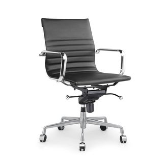 Decade Black Modern Classic Aluminum Office Chair
