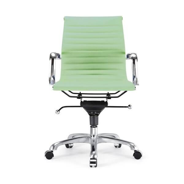 Shop Century Mint Modern Classic Aluminum Office Chair Overstock 18179421