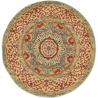 "Unique Loom Quincy Palace Round Rug - 3'3"" round"