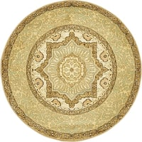 Unique Loom Quincy Palace Round Rug - 3' 3 x 3' 3
