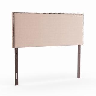 Porch & Den Silver Lake Glendale Full-size Upholstered Nailhead Headboard