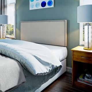 Copper Grove Maybelle Full-size Upholstered Nailhead Headboard