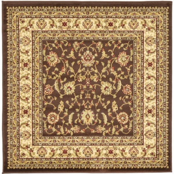 Unique Loom St. Louis Voyage Square Rug - 4' Square