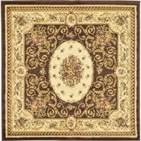 Unique Loom Phillipe Versailles Square Rug - 4' x 4'