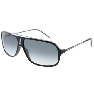 Carrera Aviator Cool/S F83 7V Unisex Black White Black Frame Grey Gradient Lens Sunglasses