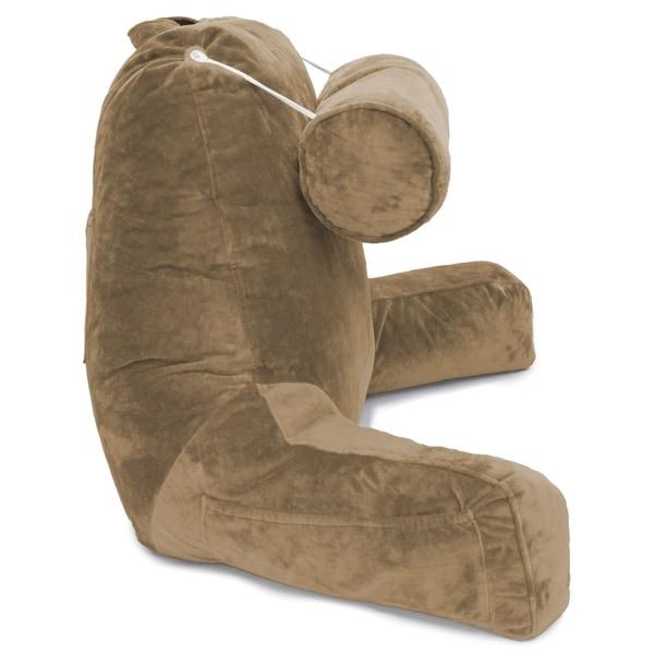 Shop Husband Pillow Bedrest Reading Support Bed Backrest W Arms