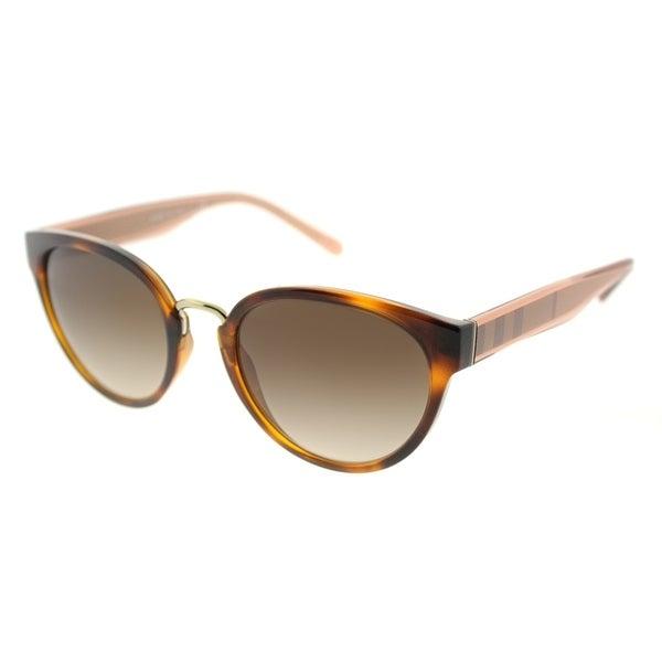 f04c9635974f Burberry Cat Eye BE 4249 331613 Women  x27 s Light Havana Frame Brown  Gradient