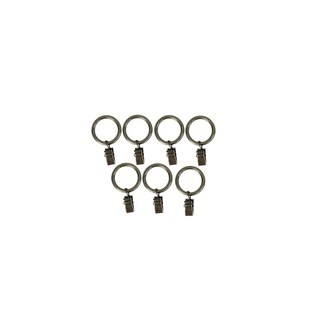 Clip Rings for Rods with a diameter up to 3/4in. Set of 7 pcs