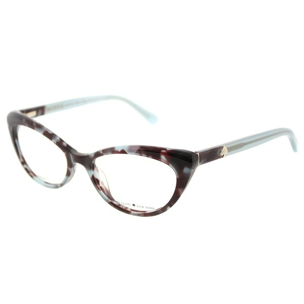 Shop Kate Spade Cat Eye Ks Analena W82 Womens Blue Tortoise Frame