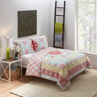Boho Boutique Lisbon 3 Piece Reversible Comforter Set