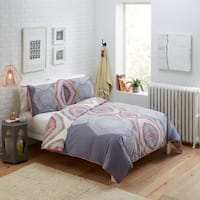 Boho Boutique New Moon 3 Piece Reversible Comforter Set - Multi