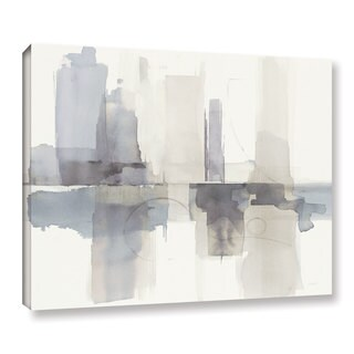 Mike Schick's Improvisation II Gray Crop, Gallery Wrapped Canvas (5 options available)