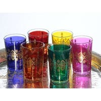 Moroccan Arabesque Tea Glasses