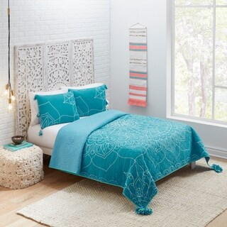 Boho Boutique Magic Medallion Reversible Quilt Set